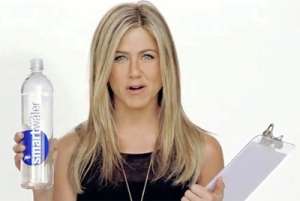 Jennifer Aniston Smart Water Video All the Rage
